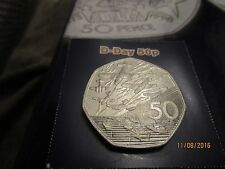 50p - UK - D-DAY  - UK 50p Coin - old style