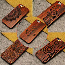 Luxury Natural Wooden Wood Bamboo Pattern Hard Phone Case For iPhone 5 5s SE