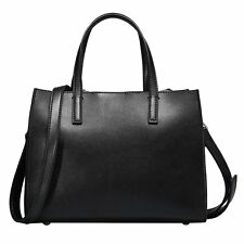 Leisure Temperament Cow Leather Handbags Shoulder Crossbody  Medium Tote Bags