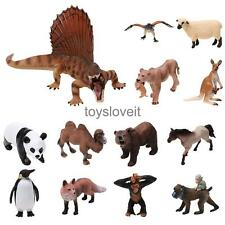 Lifelike Wild Farm Animal Dinosaur Dino Model Toy Story Telling Teaching Props