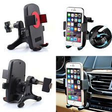 360° Auto Car Air Vent Mount Cradle Holder Stand For Smart Mobile Cell Phone GPS