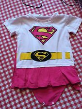 Baby Girls Fancy Dress Outfit Supergirl 18-24 Months