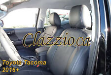 2016 TOYOTA TACOMA DOUBLE CAB | CLAZZIO LEATHER SEAT COVER (1ST+2ND ROWS)