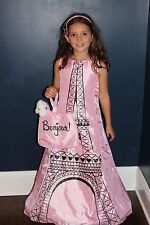 Eiffel Tower Girl's Boutique Halloween Costume French Poodle Paris MSRP $110 NEW