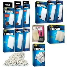 Fluval Underwater Filter Media Poly/Carbon Clearmax Cartridge Biomax Foam Pad