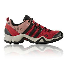 Adidas AX2 Womens Red Trail Outdoors Walking Trekking Sports Shoes Trainers