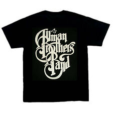 Allman Brothers Band - Logo music tshirt, Black , 100% cotton, S, M, L, XL, XXL