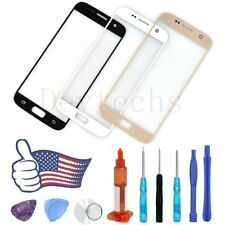 Front Outer Screen Glass Lens Replacement For Samsung Galaxy S7 Tool Kit UV Glue