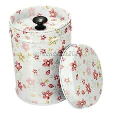 Cylinder Tins Canister Box Double Cover Food Storage Container Kitchen Supplies