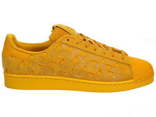NEW MENS ADIDAS ORIGINALS SUPERSTAR CASUAL SHOES TRAINERS BOLD GOLD / BOLD GOLD