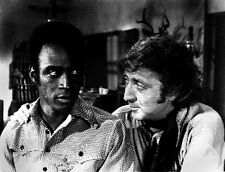 Blazing Saddles Two Men Talking Scene Excerpt from Film High Quality Photo