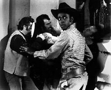 Blazing Saddles with Cowboy Fighting Scene Excerpt from Film High Quality Photo