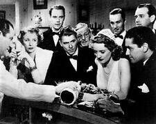 Dark Victory Classic Movie Scene at The Bar with Cast Members Premium Art Print
