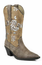 Roper Western Boots Womens Floral Snip Toe Boot 09-021-1556-0840