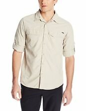 Columbia Silver Ridge Long Sleeve Shirt, Fossil