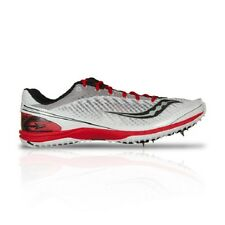 New Men's SAUCONY KILKENNY XC5 Spike - S29004-6 White Red Cross Country Cleat
