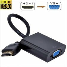 1080p HDMI to VGA Cable Video Converter Adapter for Laptop PC DVD HDTV PS3 Y5