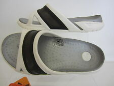 CROCS pRepair Slide White/Black Unisex Sandals UK3 x 10 (G1)