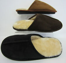 Premium Mens Mule Slippers Black, Tan or Brown S/M, M/L & L/XL (R17A)
