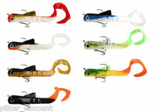 FLADEN Conrad Tail Crawler, Rubber fish with Twister Tail, 45g or 115g
