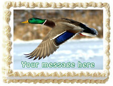 CANADIAN DUCK Edible image cake topper decoration