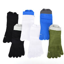 Casual Mens Trendy pure cotton Five Fingers toe sports bamboo fibre Socks JBUS