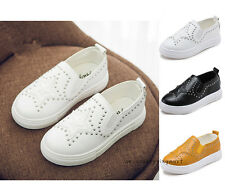 New Kids Casual Shoes Boys Girls Soft Sneakers Loafers Sport Shoes Size 5-3