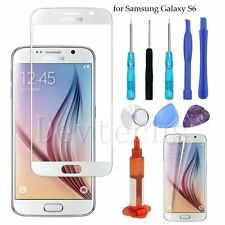 Front Outer Screen Glass Replacement Lens for Samsung Galaxy S6/Tool Kit/UV Glue