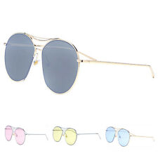 Women's Retro Fashion Designer Alloy UV400 Metal Mens Sunglasses Eyewear Shades