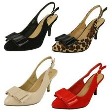 Ladies Anne Michelle Slingback Court Shoes
