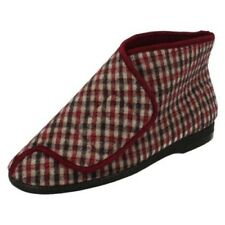 Mens Balmoral Chequered Bootee Slippers 'Gawci'