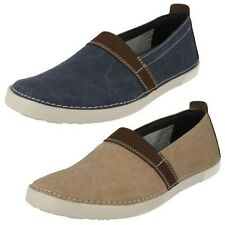 Mens Clarks Casual Slip On Shoes, Neelix Free