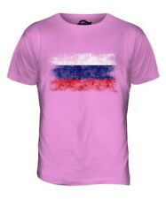 RUSSIA DISTRESSED FLAG MENS T-SHIRT TOP ROSSIYA RUSSIAN ROSSIÂ GIFT FOOTBALL