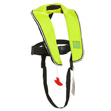 Automatic Inflatable Life Jacket Inflate Saving Vest Buoyancy Aid PFD for Child