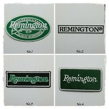 Remington Arms Sew Iron on Patch Embroidered Gun Shotgun Rifle Hunting Pistol