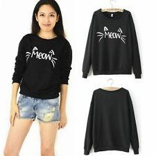 Hot Women Hoodie Sweater Long Sleeve Sweatshirt Jumper Hooded Pullover Coat Tops