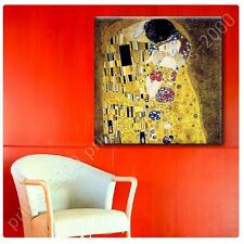 POSTER or STICKER +GIFT Decals Vinyl The Kiss Gustav Klimt Wall Art Prints