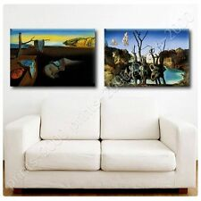 POSTER or STICKER +GIFT Decals Vinyl Persistence Memory Swans Elephants Melting