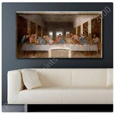 POSTER or STICKER +GIFT Decals Vinyl The Last Supper Leonardo Da Vinci Paints