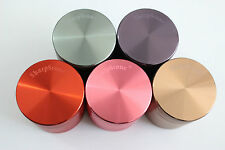 "1.5"" Hard Top 4Piece Authentic Sharpstone® Aluminum Herb Tobacco Grinder Crusher"