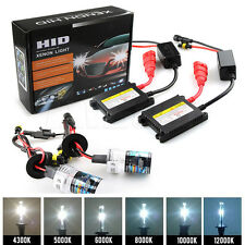 2x Car Moto 55W HID Xenon Headlight Conversion KIT Bulbs Ballast H1 H4 H3 H7 H11