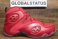 2012 NIKE ZOOM ROOKIE VARSITY RED PENNY HARDAWAY RETRO SHOES 472688 601 SIZE 8