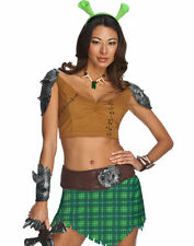 Shrek Forever After Princess Fiona Warrior Sexy Party Halloween Costume S or L