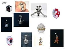 * ASSORTED SINGLE EUROPEAN CHARM BEADS AND DANGLE CHARMS - DISNEY AND FAIRYTALE