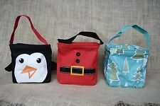Thirty-One Littles Carry-All Caddy Small Utility Tote Basket Christmas Holiday