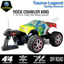 1:10 Remote Control 4WD Rock Crawler King Monster Truck Off Road RC Car Buggy