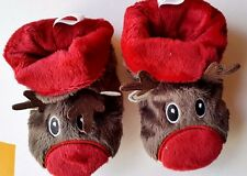 NEW Infants Totes Toasties Tots Reindeer Slippers - Gift Boxed