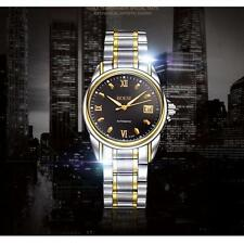 Luxury Mens Silver Stainless Army Sport Automatic Mechanical Date Wrist Watches*