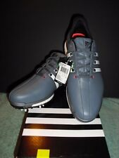 NEW MEN'S ADIDAS TOUR 360 BOOST GOLF SHOES ONIX & WHITE YOU CHOOSE THE SIZE