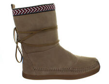 Womens Toms Nepal Boot Sand Suede Trim 10000445